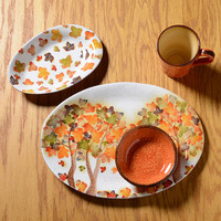 Autumn Leaves Mix and Match