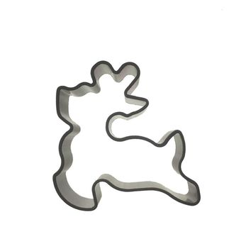 Free shipping deer cookie cutters cooking tools decoration Silicone Mold baking Fondant Sugar Craft Molds DIY Cake fimo