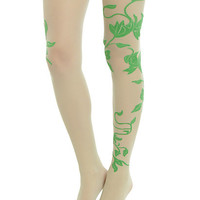 DC Comics Poison Ivy Cosplay Vine Tights