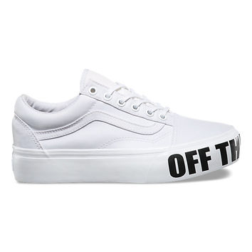Off The Wall Old Skool Platform | Shop Shoes At Vans