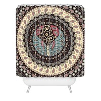 Belle13 Butterfly Mandala Shower Curtain