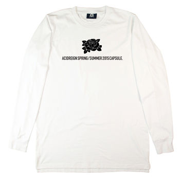 WHITE CAPSULE LONG SLEEVE