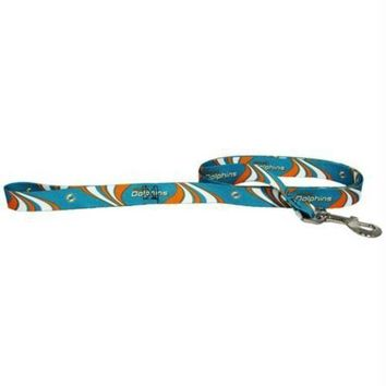 PEAPYW9 Miami Dolphins Dog Leash