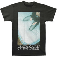 Crystal Castles Men's  Big Deer Slim Fit T-shirt Black