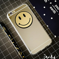 Smiling Face Makeup Mirror iPhone 7 7Plus & iPhone se 5s 6 6 Plus Case Cover +Gift Box