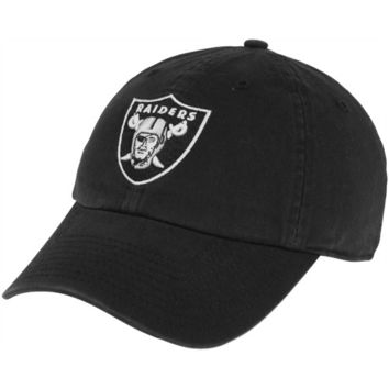 Oakland Raiders '47 Brand Classic Franchise II Fitted Hat – Black