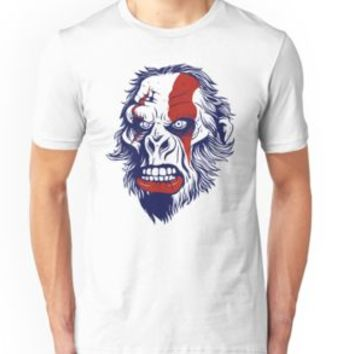 'ANGRY GORILLA - Scary Howling Monkey Or Angry Silverback Gorilla Shirt Design-' T-Shirt by Super3
