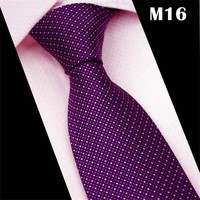 CityRaider 2018 Cravate New Fashion Solid Purple Neck Ties For Mens Slim Wedding Tie 8cm Width Mens Party Neckties Gravata CR031