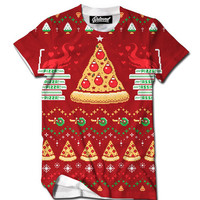 Pizza Holiday Men's Tee