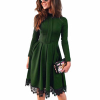 Autumn Long Sleeve Dress