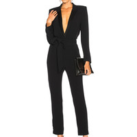 IRO Jesalo Jumpsuit in Black | FWRD