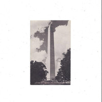 1950s Black & White Photo Print Postcard of Jefferson Davis Monument, Hopkinsville, Kentucky, Unposted, Conoco Vintage Postcard, Ephemera