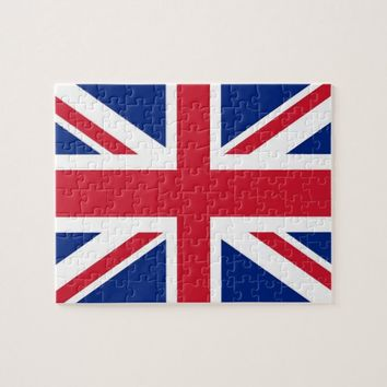 Puzzle with Flag of United Kingdom