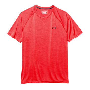 Men's UA Tech™ Short Sleeve T-Shirt in Red by Under Armour - FINAL SALE