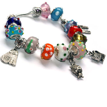 Cats and Colours Bracelet - Perfect for cat lovers - Gift Idea, Bracelet for girls, bracelet for teens, sweet 16, I love Cats - Cats rule -
