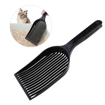 UEETEK Long Handle  Litter Scoop Durable Plastic Shovel
