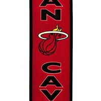 Miami Heat Wool Man Cave Banner