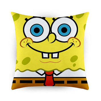 Spongebob Square Pants Design, Pillow Cases, Covers, Decorative Pillow Case