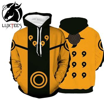 Naruto Sasauke ninja  Hoodies Boruto Jacket Men 3D Hoodie Akatsuki Coat Uchiha Itach Cosplay Costume Kakashi Sweatshirt Luxtees AT_81_8