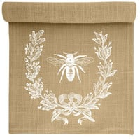 French Bee Table Runner