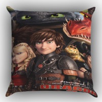 How To Train Your Dragon 2 All Zippered Pillows  Covers 16x16, 18x18, 20x20 Inches