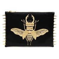 Beetle  Gold  clutch