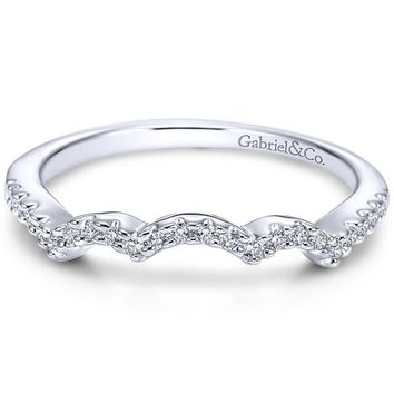 "Gabriel ""Baby Chrysalis"" Diamond Wedding Ring"