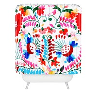 Deb Haugen Mexican Surf Trip Shower Curtain
