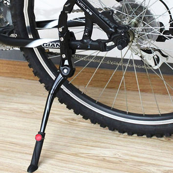24'~26' Adjustable Bicycle Kickstand Aluminum Bike Side Holder Stand Parking Leg for Giant Mountain Bike Road Bicycle Part