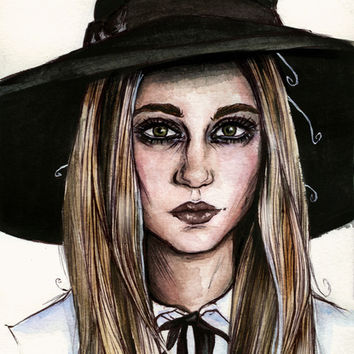 American Horror Story Coven Art Print by vooce & kat
