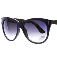 SUNGLASS / PREMIUM LENS / FASHION / OVERSIZED / UV 4OO / 2 1/4 INCH WIDE LENSE