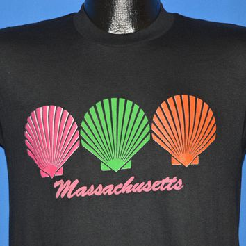 80s Massachusetts Seashell Tourist t-shirt Small