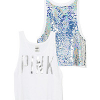 Bling Muscle Tank - PINK - Victoria's Secret