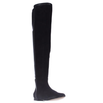 Vince Camuto Filtra Over The Knee Riding Boots - Black