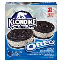 Klondike Oreo Ice Cream Cookie Sandwiches 4-ct.