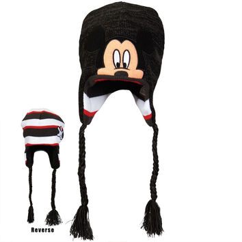 Mickey Mouse - Head Reversible Peruvian Knit Hat
