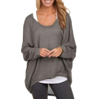 Slouchy Batwing Sweater