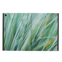 Tall Green Grass Close-Up Photography Cover For iPad Air
