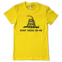 "Dont Tread On Me"" Tea Party T-Shirt"""