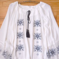 Bohemian Song Bird Blouse
