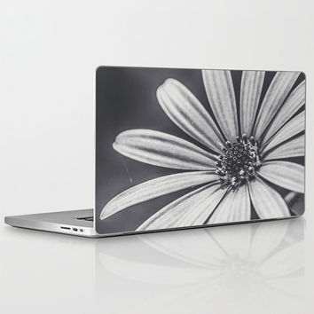 "Melancholia - Laptop Skins for MacBook Air/ Pro/ Retina 11"" 13"" 15"" 17"" and PC Laptops 13"" 15"" 17""  -  Floral Design - Laptop Accessorys"