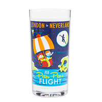 Peter Pan's Flight Retro Glass Tumbler | Disney Store