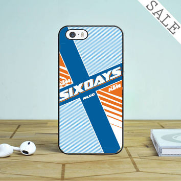 Ktm Motorcycle Six Days Finland Mx iPhone 4 |4S Case