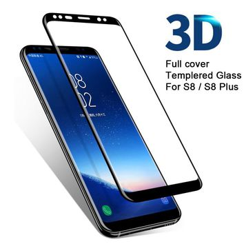 3D Full cover Curved Tempered Glass for Samsung Galaxy S8 Screen Protector for S8 Plus Protective Film for S8 edge Note 8 Glass