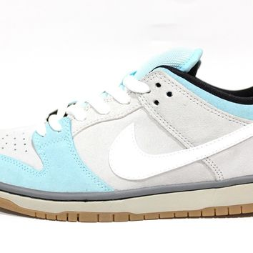 Nike Men's Dunk Low Pro SB Glacier Ice Skateboard Shoes 304292 410