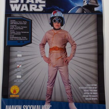 Star Wars Anakin Skywalker Costume Halloween Cosplay Child M Youth 8-10