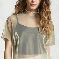 2-in-1 Holographic Tee