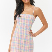 Plaid Cami Dress