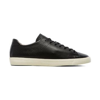Pony Topstar OX Deconstructed Leather in Black