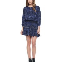 Pitch Black Cupid Cupid Scroll Studded Dress Exclusive by Juicy Couture,